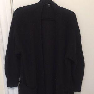 Calf length sweater